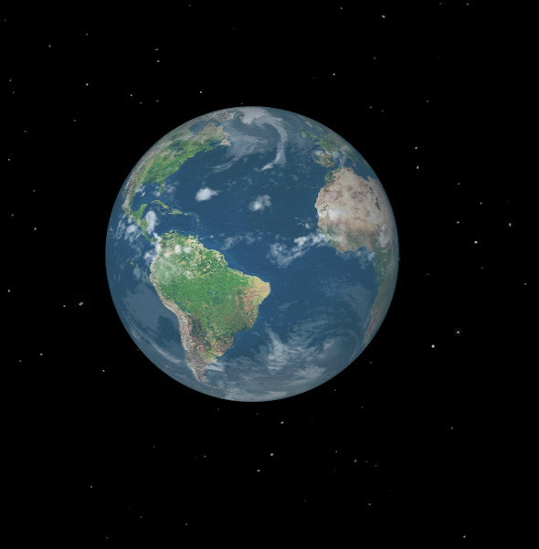 Animated lowpoly Earth - 3DOcean Item for Sale
