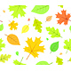 Seamless Autumn Pattern with Leaves - GraphicRiver Item for Sale