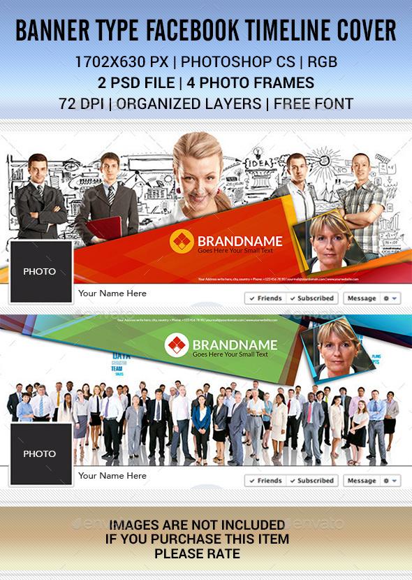 Facebook Timeline Cover Banner Type - Facebook Timeline Covers Social Media