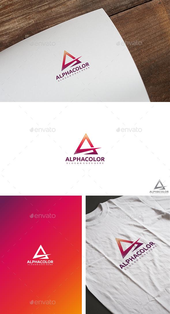 A Letter Logo - Letters Logo Templates