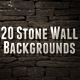 Stone Wall Backgrounds - GraphicRiver Item for Sale