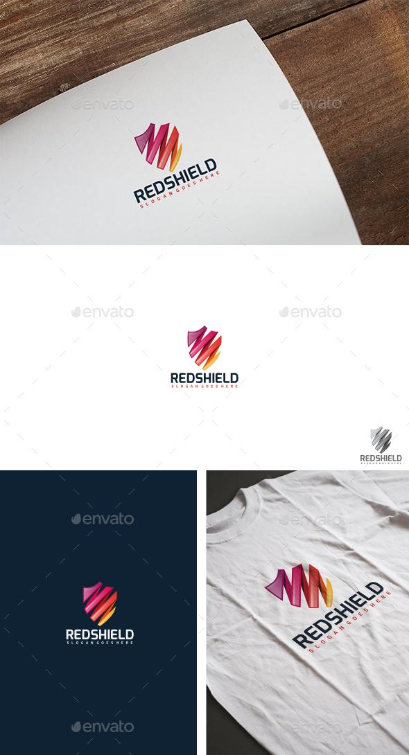 Colorful Shield Logo - Abstract Logo Templates