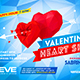 Valentine`s Day Party Flyer vol.3 - GraphicRiver Item for Sale