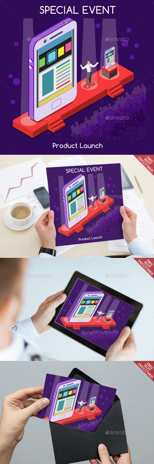 Special Event People Isometric - Concepts Business