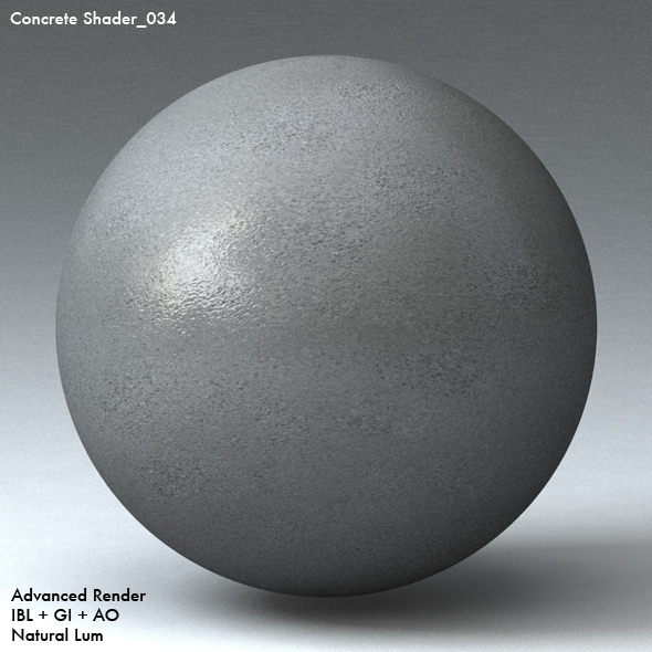 Concrete Shader_034 - 3DOcean Item for Sale