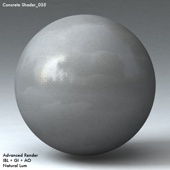 Concrete Shader_035 - 3DOcean Item for Sale