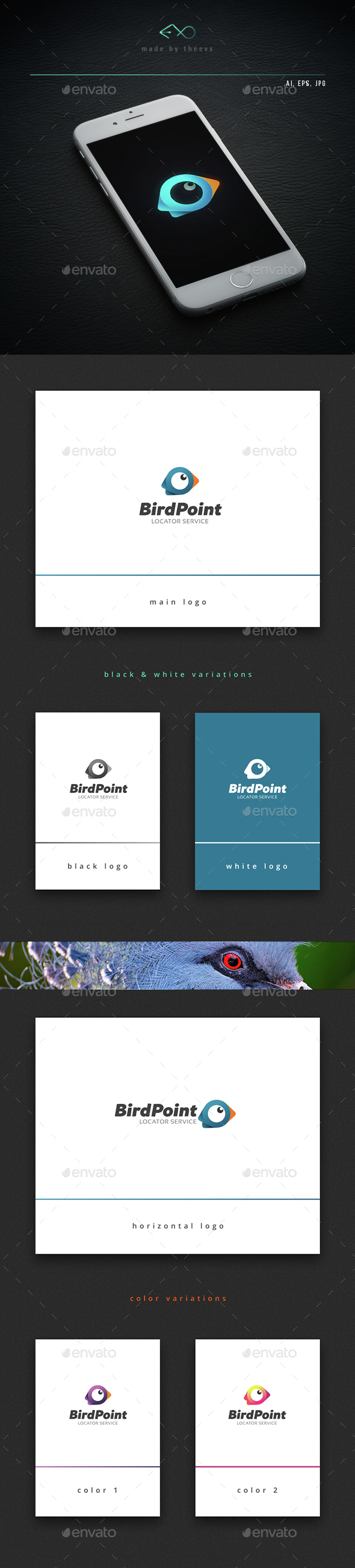 Birdpoint - Animals Logo Templates