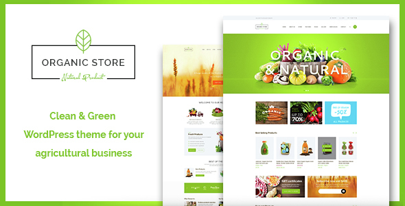 Organic Store – Organic Food & Eco Products Theme
