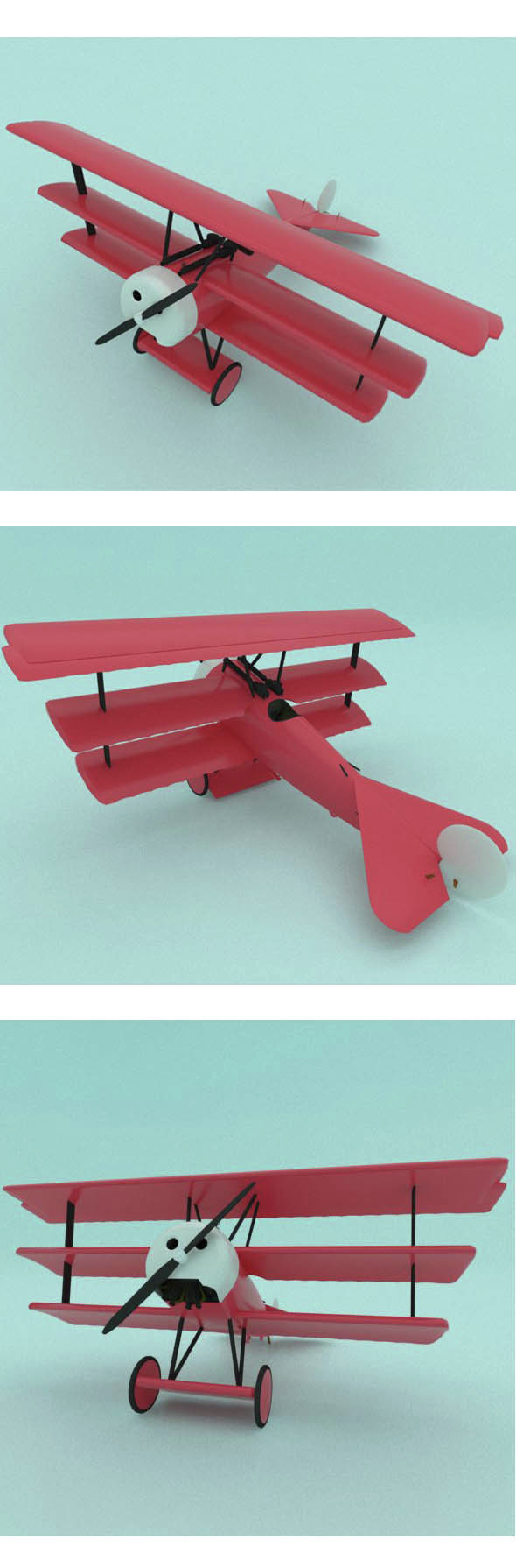 Airplane - 3DOcean Item for Sale