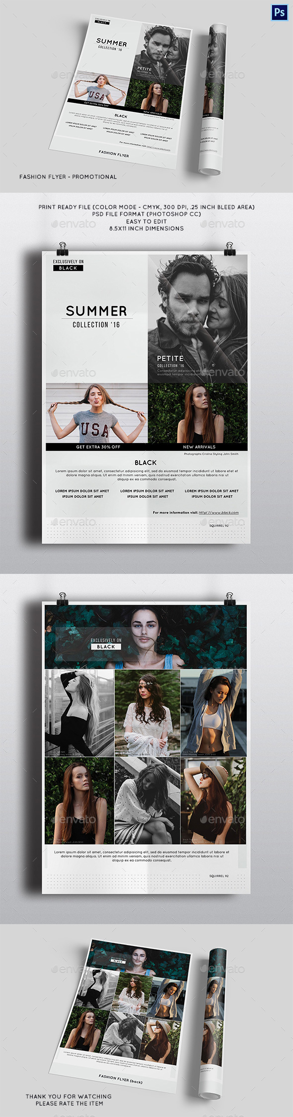 Fashion Flyer - Promotional - Corporate Flyers