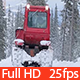 Tractor Removing Snow with Snowplow - VideoHive Item for Sale