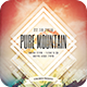 Pure Mountain Flyer - GraphicRiver Item for Sale