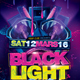 Black Light Party Flyer - GraphicRiver Item for Sale