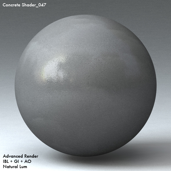 Concrete Shader_047 - 3DOcean Item for Sale