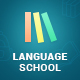 Language School - Courses & Learning Management System Education WordPress Theme Nulled
