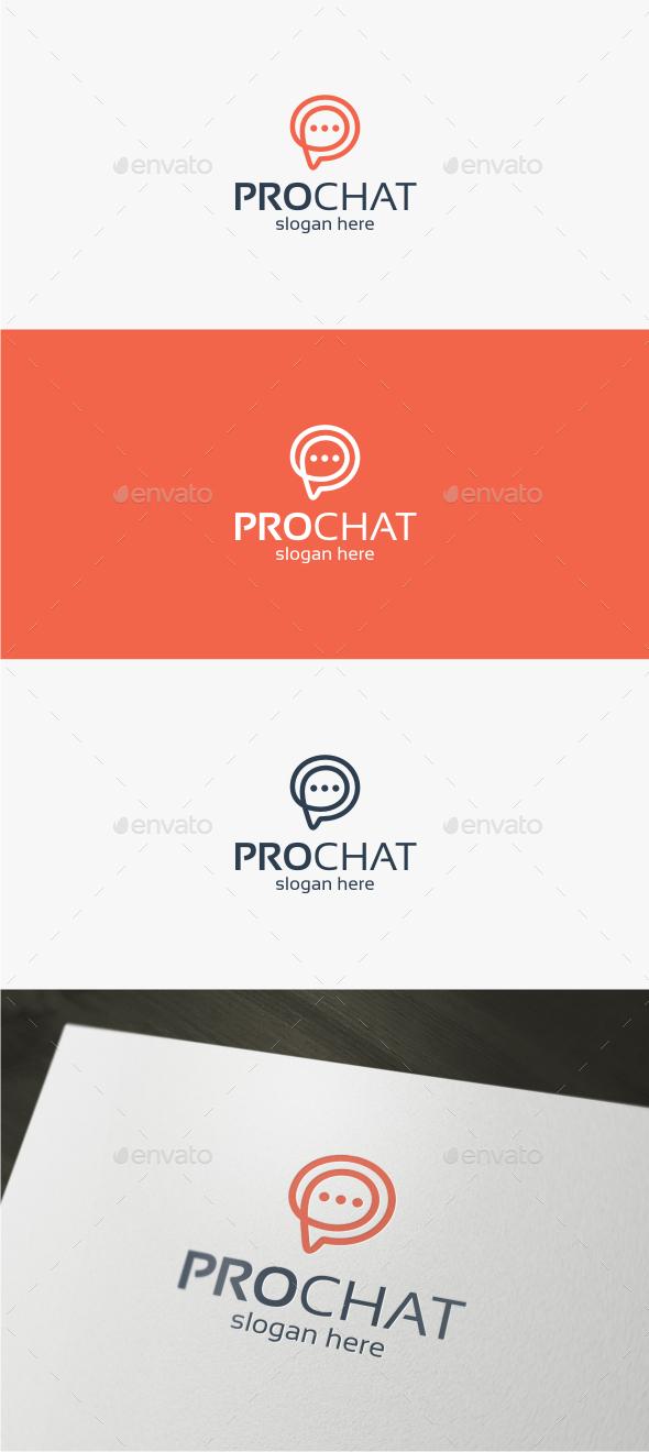 Pro Chat - Logo Template - Symbols Logo Templates