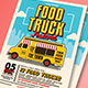 Pop Art Food Truck Flyer/Poster/Menu - GraphicRiver Item for Sale