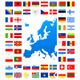 Map and Flags of Europe Collection - GraphicRiver Item for Sale