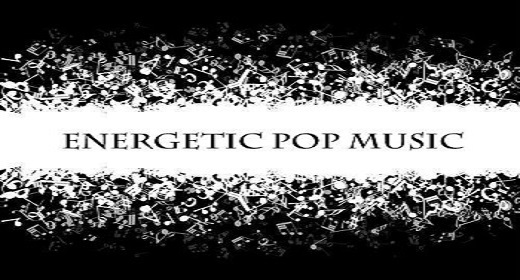 energetic pop music