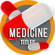 Medicine Titles - VideoHive Item for Sale