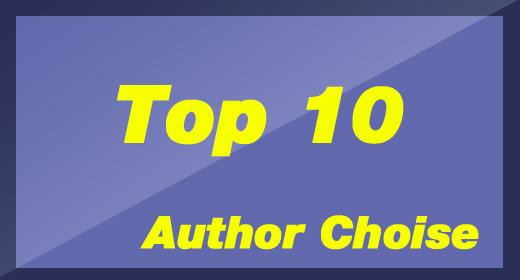 Top 10 Author Choice