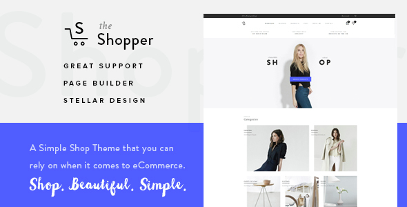 Shopper – Responsive WooCommerce Theme