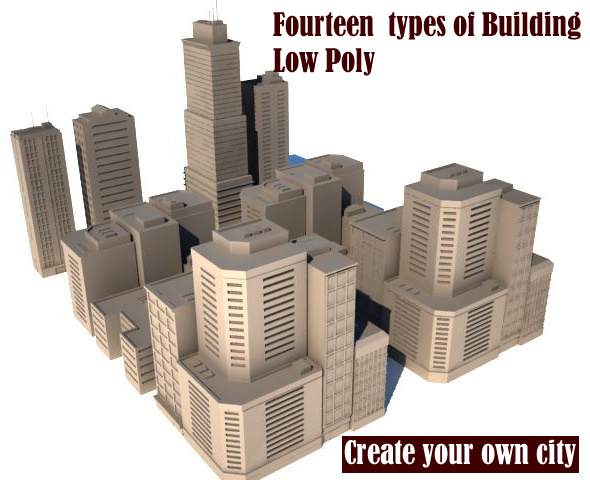 City-Metropol - 3DOcean Item for Sale