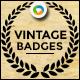 Vintage Style Badges - 15 Designs