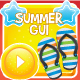 Summer Game GUI - GraphicRiver Item for Sale