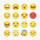 Emoji Flat Icons . - GraphicRiver Item for Sale