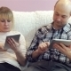 Family Uses a Tablet - VideoHive Item for Sale