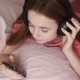 Girl Is Listening To Music - VideoHive Item for Sale