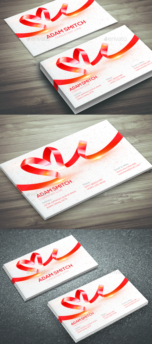 Conxultant Love Business Card - Corporate Business Cards