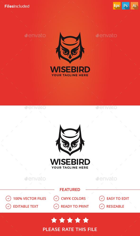 Owl Logo - Animals Logo Templates