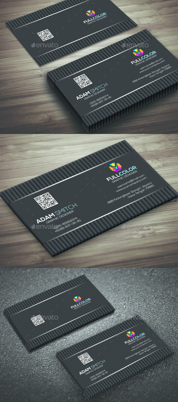 New Modern Business Card - Corporate Business Cards