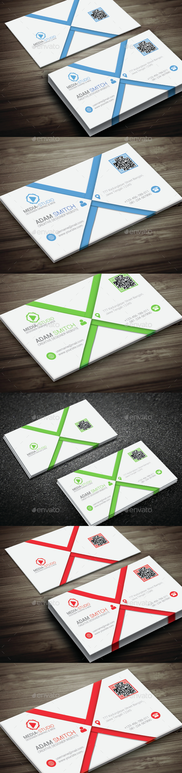 Style Corporate Business Card - Corporate Business Cards