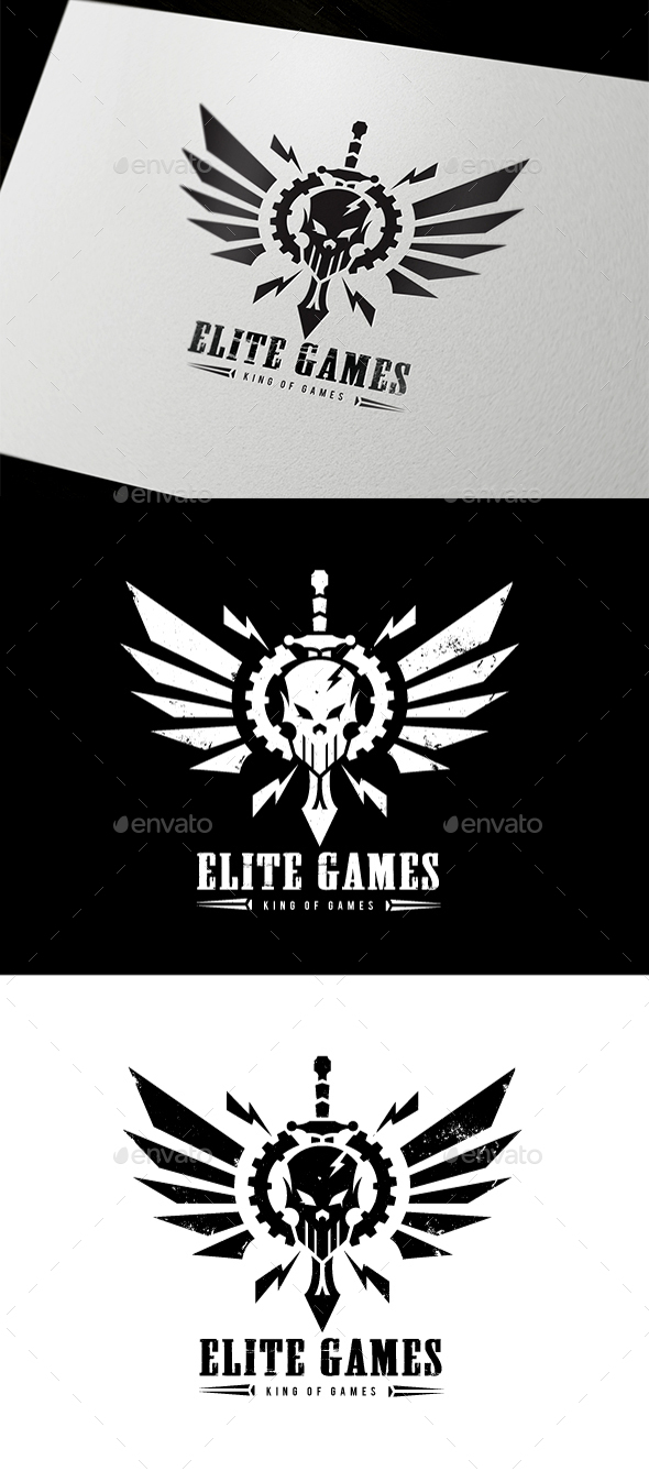 Elite Games - Crests Logo Templates