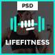 Life Fitness - Gym&Sport PSD Template Nulled