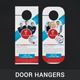 Corporate Door Hanger - GraphicRiver Item for Sale