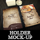 7 Photorealistic Holder Mock-up  - GraphicRiver Item for Sale