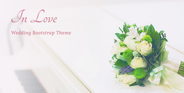 InLove – Responsive HTML Wedding Template