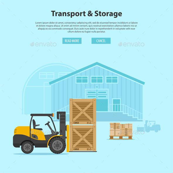 Forklift and Warehouse - Industries Business