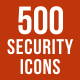 500 Security Icons Bundle - GraphicRiver Item for Sale
