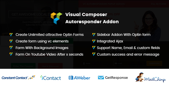 Visual Composer Autoresponder Addon - CodeCanyon Item for Sale