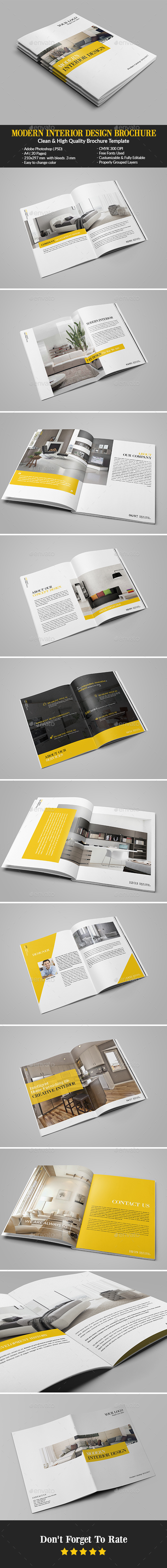 Modern Interior Design Brochure/Catalog - Catalogs Brochures