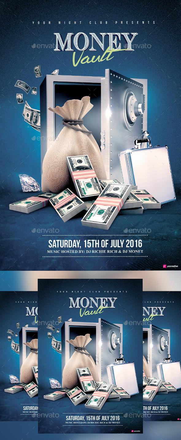 Money Vault - Clubs & Parties Events