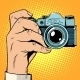 Retro Camera Snapshot Selfie - GraphicRiver Item for Sale