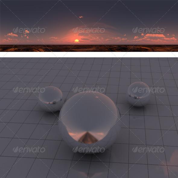 M sunset - 3DOcean Item for Sale