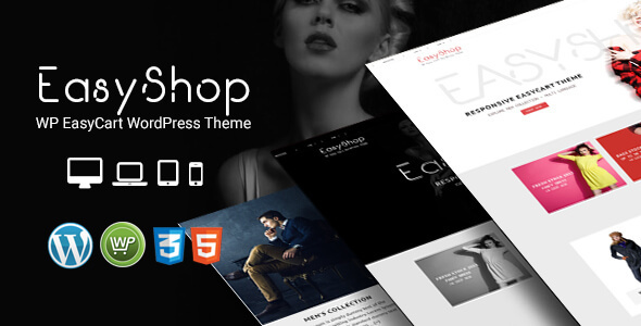 EasyShop – WP EasyCart Responsive WordPress Theme