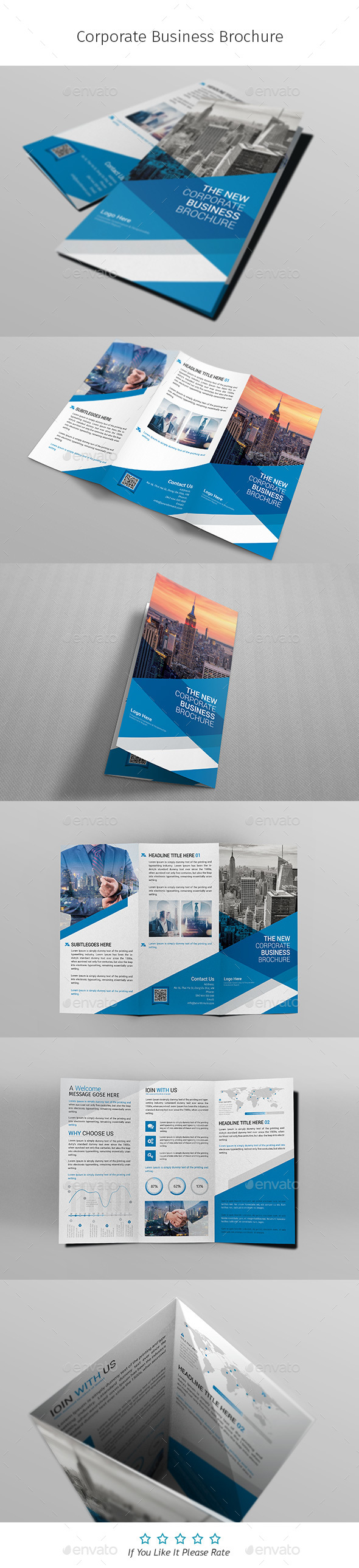 A4 Corporate Business Flyer Template Vol 02 - Corporate Brochures